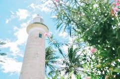 le phare à Galle, Sri Lanka images libres de droits