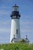 Le phare à la tête de Yaquina Photographie stock