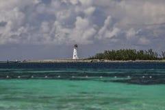 Le phare à Nassau Photo stock