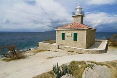 Le phare Photo stock
