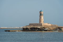 Le phare Image stock