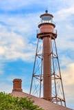 Le phare d'île de Sanibel Photographie stock