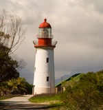 le phare d'île robben Photographie stock
