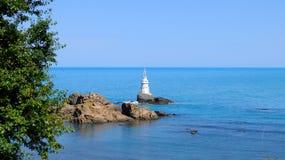 Le phare d'Ahtopol Images libres de droits