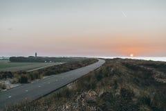 Le phare d'Ouddorp, Pays-Bas photo libre de droits