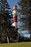 Le phare dans Swakopmund, Namibie Image libre de droits