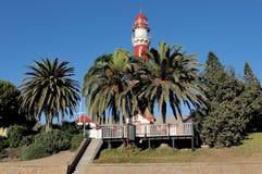Le phare dans Swakopmund, Namibie photos stock