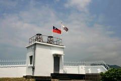 Le phare dans Taiwan Photo libre de droits