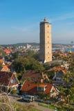Le phare de Brandaris sur Terschelling Image stock