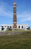 Le phare de Cabo Polonio Photo libre de droits