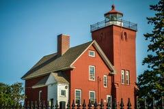 Le phare de deux ports est le phare le plus ancien de Minnesotas photos libres de droits