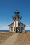 Le phare de Fort Bragg, la Californie Images stock