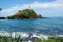 Le phare de l'île de Lanta Photos libres de droits