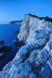 Le phare de Lefkada images stock