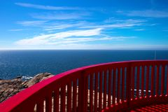 Le phare de Lindesnes photographie stock