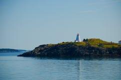 Le phare de machaon pendant le matin photographie stock libre de droits