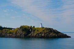 Le phare de machaon sur Manan Island grand photographie stock