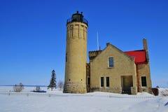 Le phare de Mackinac Photos libres de droits