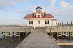 Le phare de marais de Roanoke images libres de droits