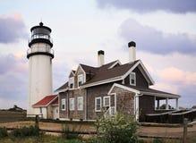 Le phare de montagne de morue de cap photo libre de droits