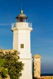 Le phare en Sicile Images libres de droits