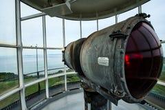 Le phare principal gai est encore opérationnel Image stock