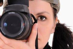 Le photographe Image libre de droits