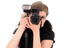 Le photographe Photographie stock libre de droits