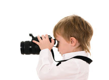 Le photographe Photos stock