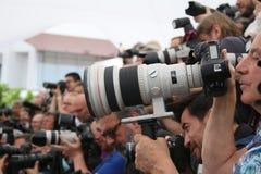 Le photographe assiste au ` dans le ` de Fade Aus Dem Nichts photographie stock libre de droits