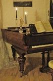 Le piano à queue Photos libres de droits