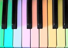 Le piano Images libres de droits