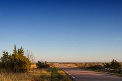 Le pianure dell'isola Oland, Svezia Fotografie Stock