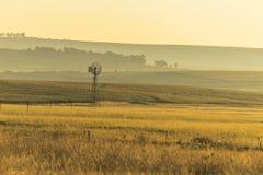 Le pianure intorno a Marquard, liberano la provincia dello stato del Sudafrica Fotografie Stock Libere da Diritti