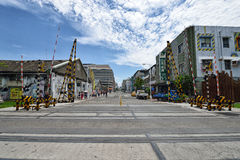 Le Pier-2 Art Center à Kaohsiung Image libre de droits