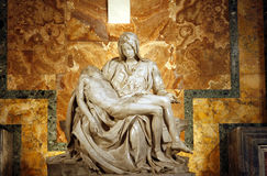 Le Pieta de Michaël Angelo Photo libre de droits