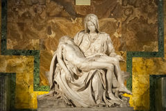 Le Pieta de Michaël Angelo en cathédrale III de St Peter Photo libre de droits