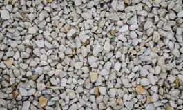 Le pietre bianche del granito riempiono l'intera struttura Fotografie Stock