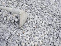 Le pietre blu del primo piano modellano il fondo di struttura con la zappa Immagini Stock Libere da Diritti