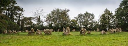 Le pietre di Rollright Fotografie Stock