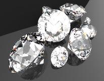 Le pietre preziose 3d rendono Fotografie Stock Libere da Diritti