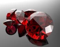 Le pietre preziose 3d rendono Immagine Stock Libera da Diritti