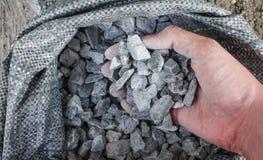 Le pietre sono state selezionate Fotografia Stock