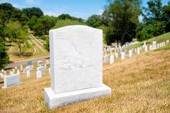 Le pietre tombali al cimitero nazionale di Arlington nella Virginia, si uniscono Immagini Stock