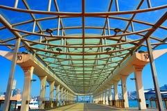 Le pilier central de ferry, Hong Kong Photo stock