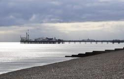 Le pilier de Brighton photos libres de droits