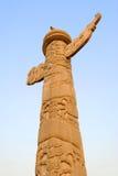 Le pilier de marbre de la porcelaine Image libre de droits