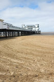 Le pilier grand, Weston Super Mare Image libre de droits