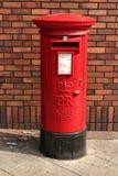 Le pillarbox de Sa Majesté, castleford, Yorkshire, R-U, avril 2019 photographie stock