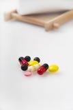 Le pillole della medicina Fotografia Stock Libera da Diritti
